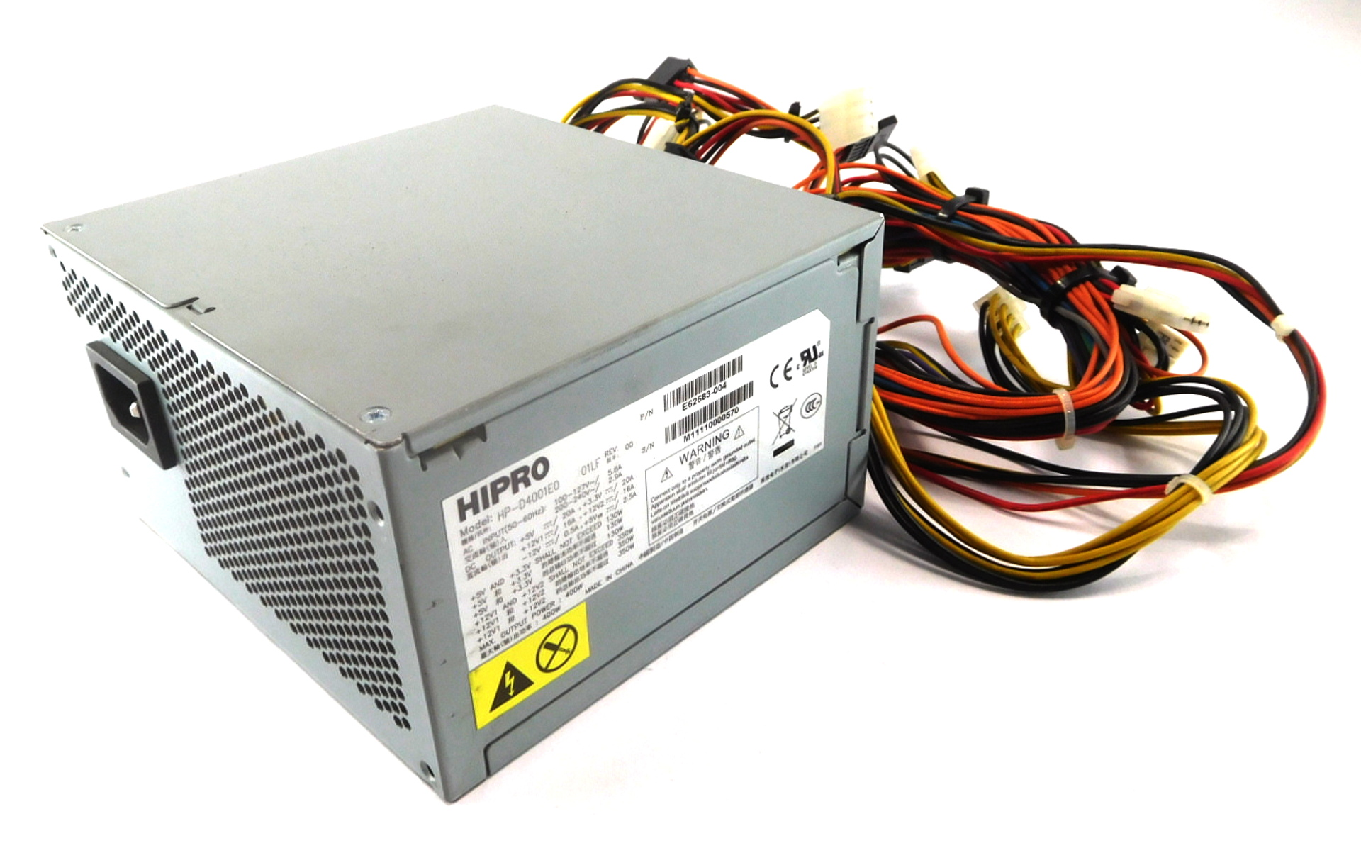 HIPRO HP-D4001E0 01LF 400W ATX Power Supply Unit E62683-004
